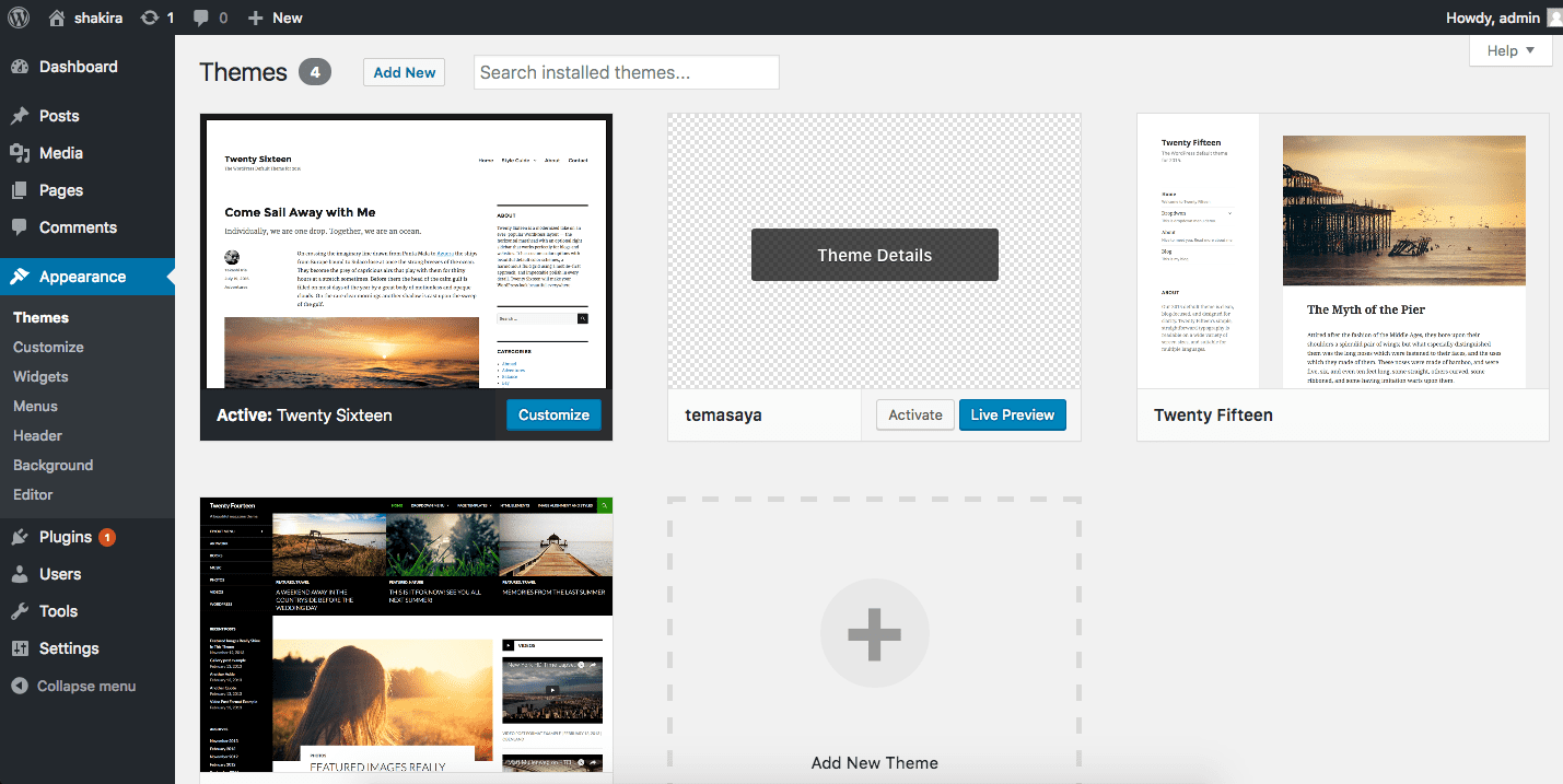 membuat theme di wordpress