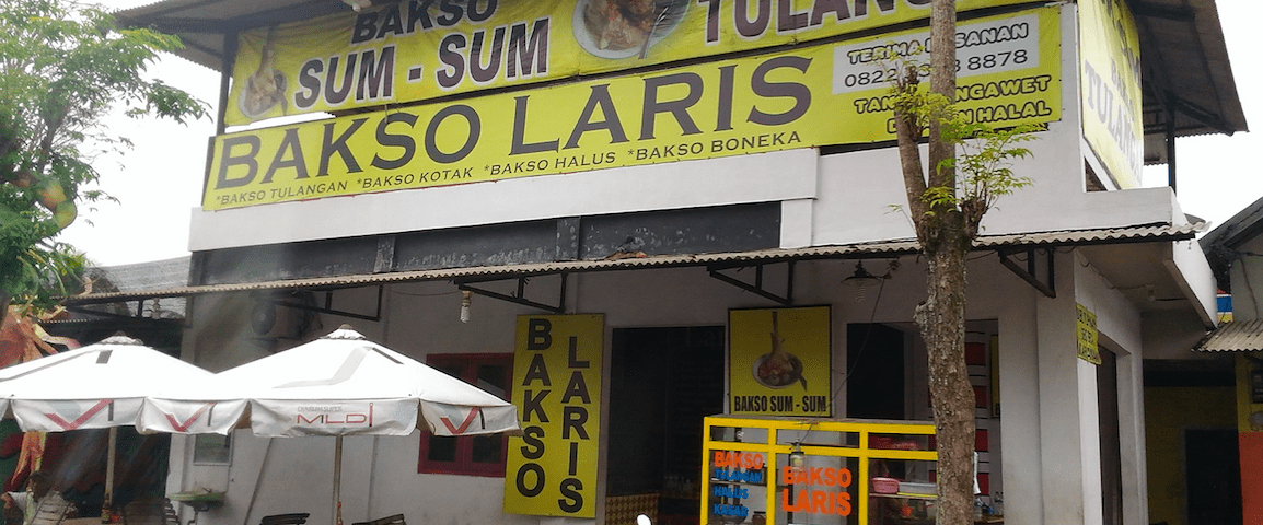 Bakso Sumsum di Bakso Laris Jember