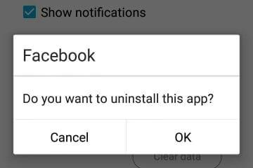 Good Bye Facebook