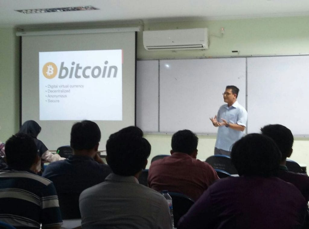 Sharing Tentang Implementasi Blockchain di Logistik
