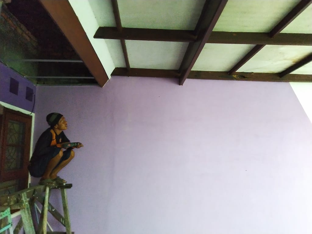 at the end perbaiki plafon rumah