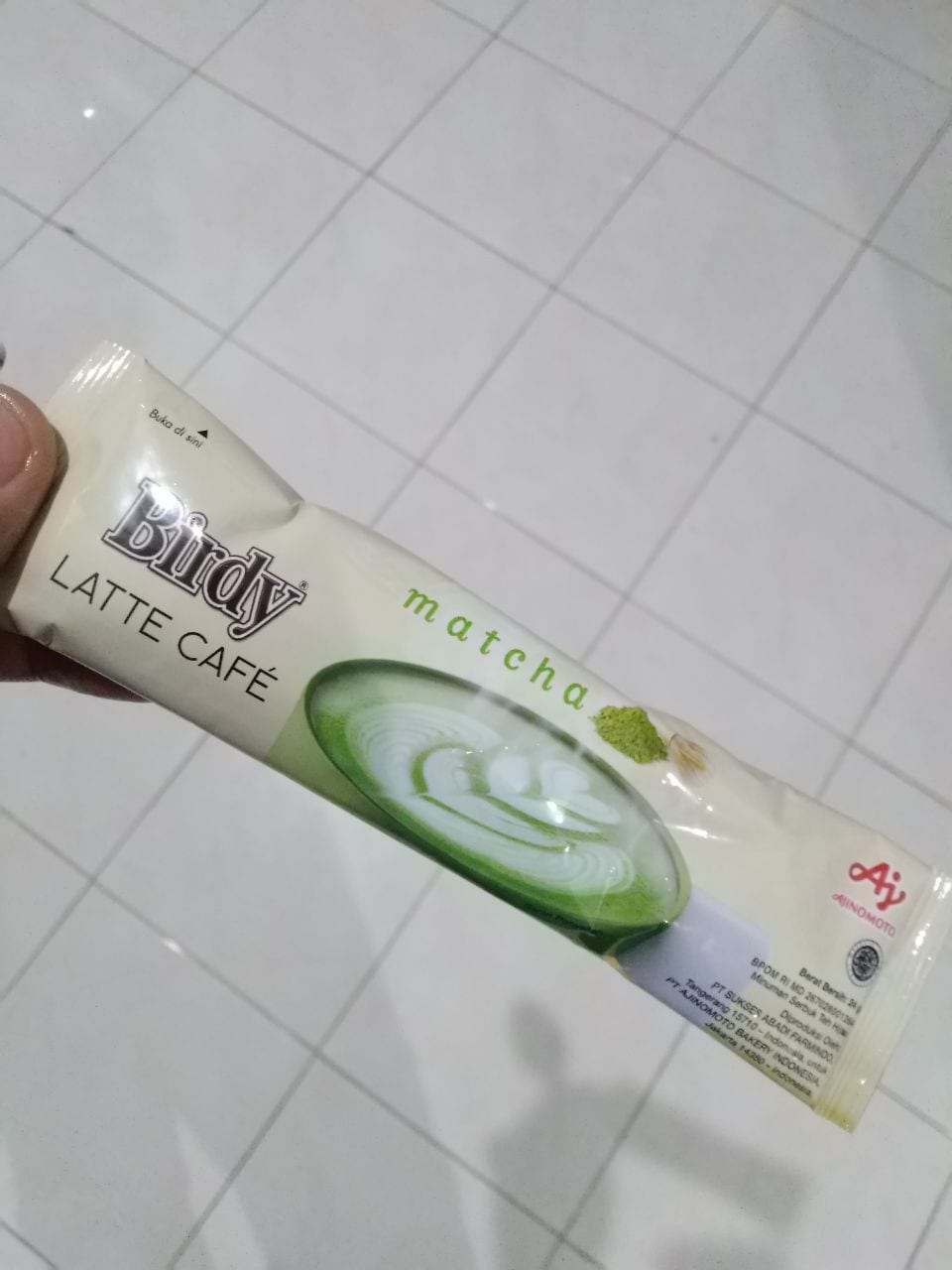 Birdy Matcha Latte Dari Ajinomoto