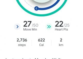 Sinkronisasi di Google Fit