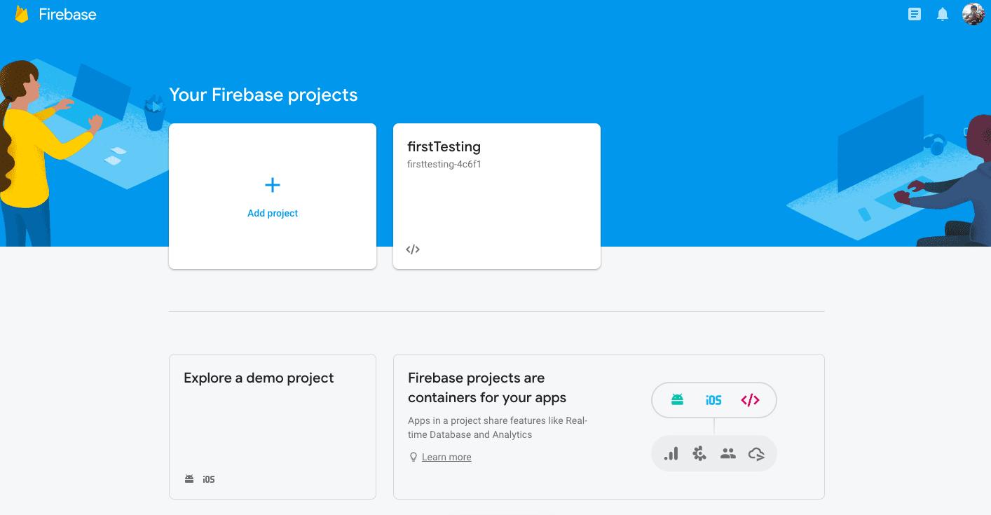 Kenali Menu Firebase