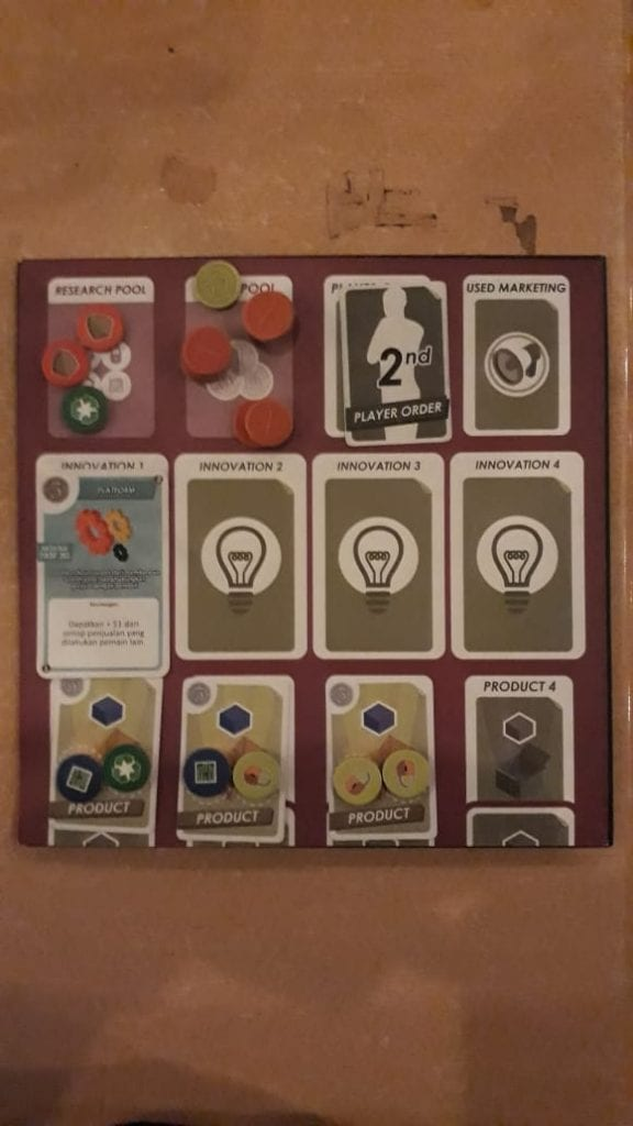 Business Craft Board Game