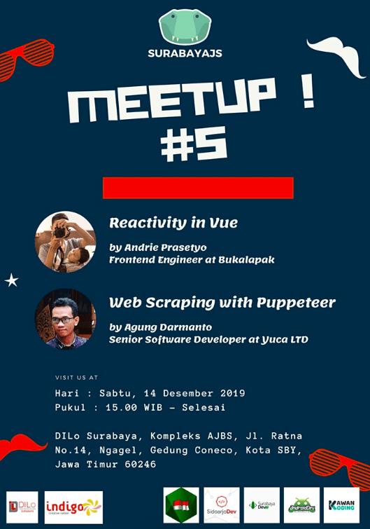 Meetup #5 Surabaya JS