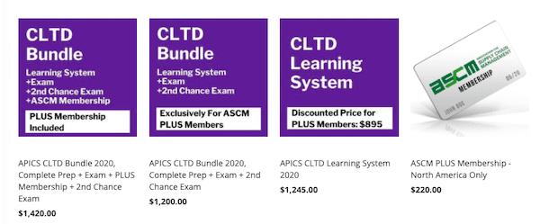 Biaya Sertifikasi Logistik CLTD APICS